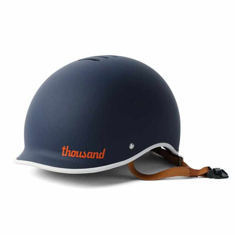 casque velo thousand heritage collection bleu navy visiere