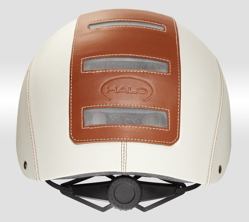 casque halo cream toffee velo electrique molette occipitale