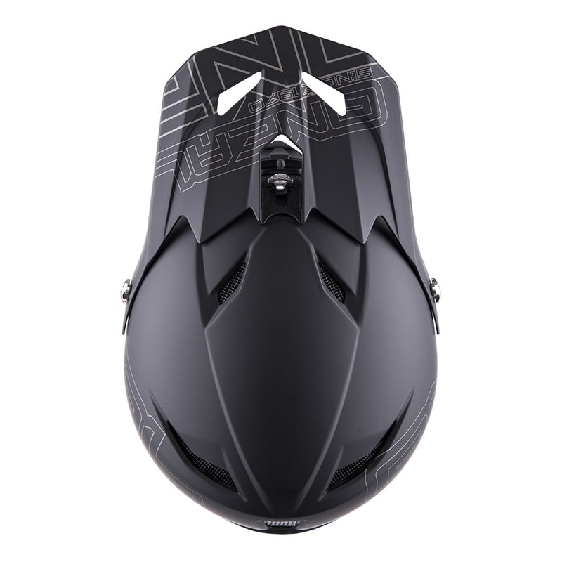 casque integral O Neal Fury RL Helmet noir mat cross