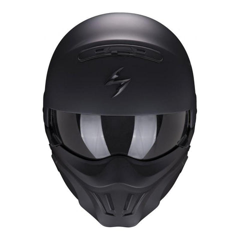 casque moto scorpion exo combat evo pas cher jet modulable weebot