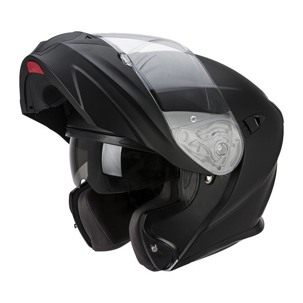 casque moto scorpion exo 920 solid visiere
