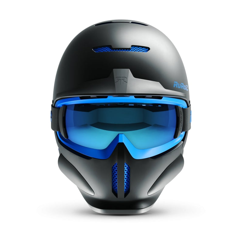 casque ruroc rg1 dx black ice face