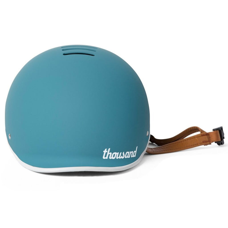 casque thousand coastal bleu lanniere cuir vegan