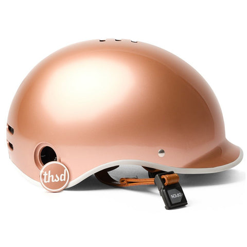 casque thousand metallic rose gold pop lock