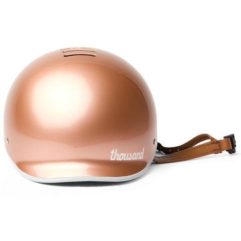 casque thousand metallic rose gold visiere