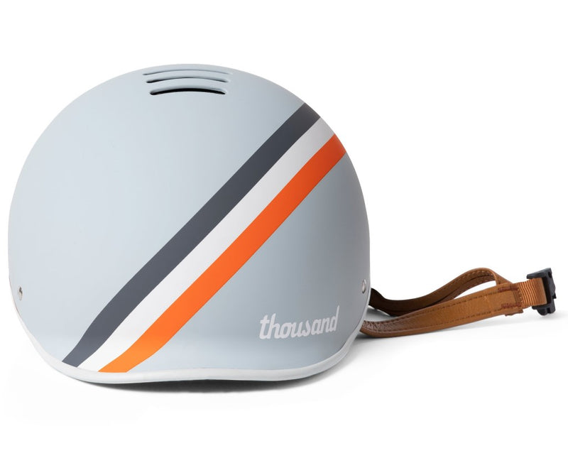 casque thousand velo heritage gris gt stripe aeration
