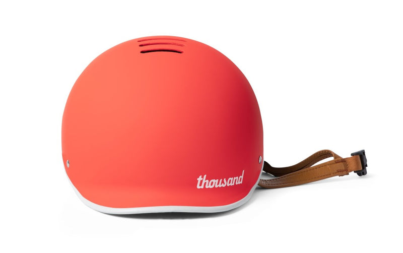 casque thousand velo heritage rouge daybreak red aeration