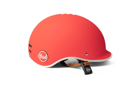 casque thousand velo heritage rouge daybreak red