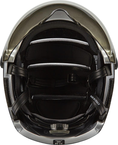 casque velo kask argent rembourage