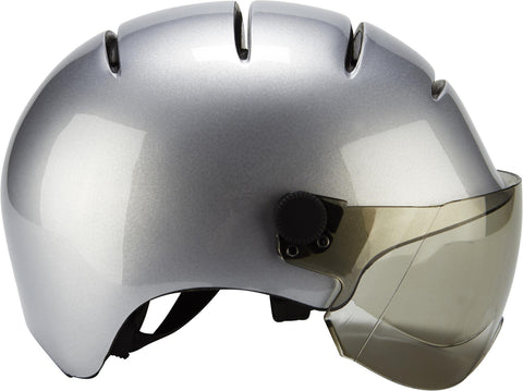 casque velo kask silver made of italy
