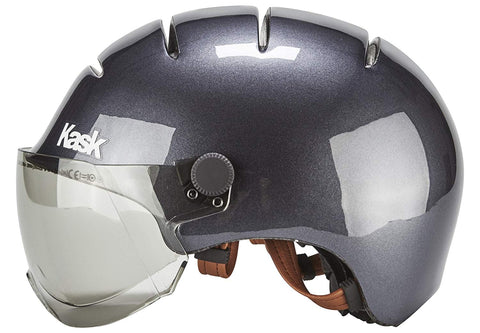 casque velo kask urban lifestyle anthracite gris pas cher