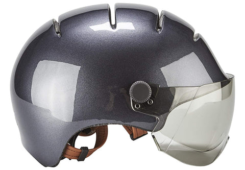 casque velo kask urban lifestyle anthracite gris profil