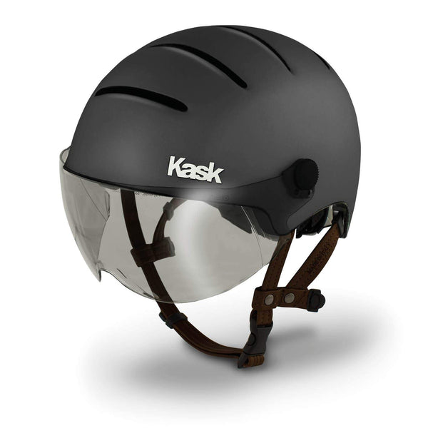 casque velo kask urban lifestyle anthracite gris visiere