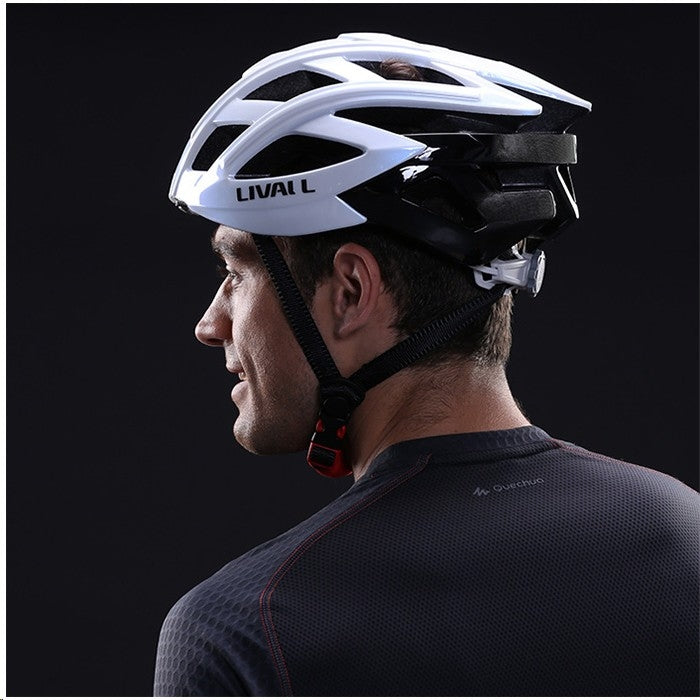 casque velo led livall bling bh60se blanc connecte lifestyle
