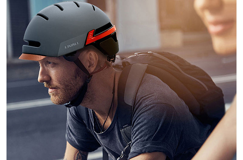 casque velo livall bh51t gris homme
