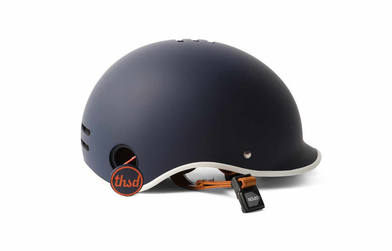 casque velo thousand heritage collection bleu navy anti vol accroche