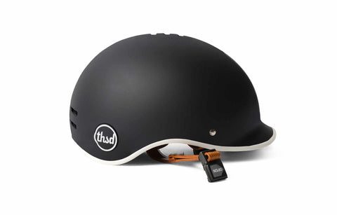 casque velo thousand heritage collection noir carbon