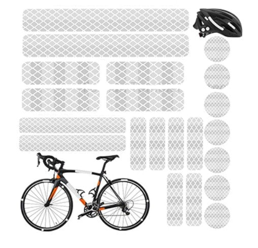 stickers catadioptre bandes reflechissantes velo trottinette electrique