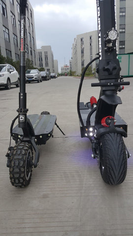 dualtronx trottinette electrique minimotors phare avant