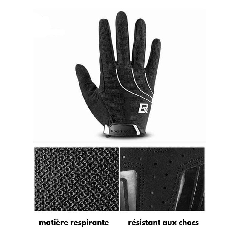 gants protection spandex details zoom matiere