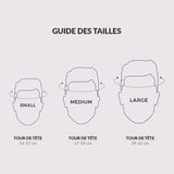 guide taille Casque Thousand Premium Collection Gold