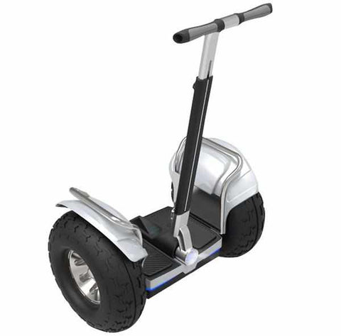 gyropode tout terrain echo silver segway 4x4 roue 19 pouces weebot. Black Bedroom Furniture Sets. Home Design Ideas