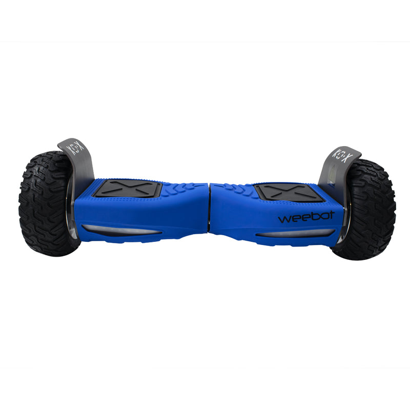 housse hoverboard tout terrain silicone bleu