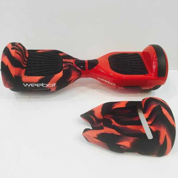 Housse silicon e coque de protection hoverboard 6 5 pouces for Housse pour hoverboard