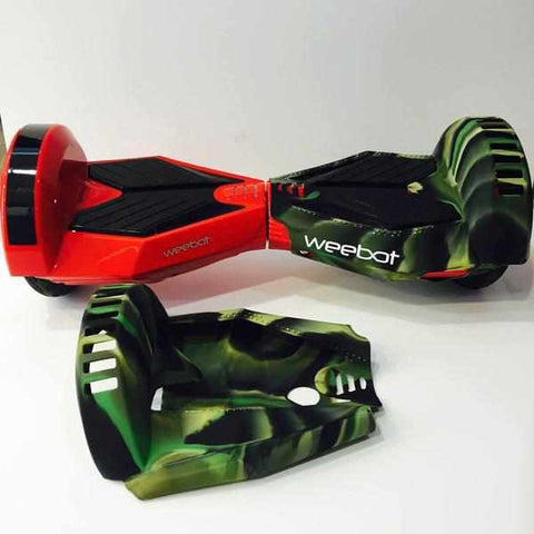 Housse silicon e coque de protection hoverboard 8 pouces for Housse pour hoverboard