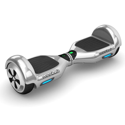 Hoverboard Classic Silver Chrome - 6,5 Pouces - Weebot