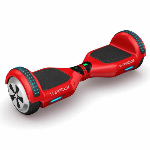 Hoverboard Light Rouge LED Bluetooth ♬ Musique 6,5 Pouces