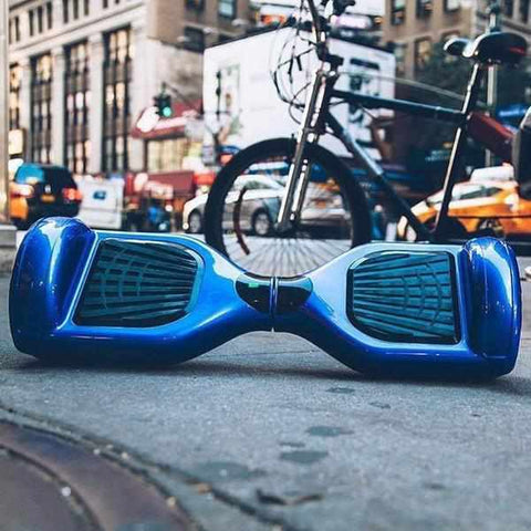hoverboard pas cher weebot classic bleu lifestyle