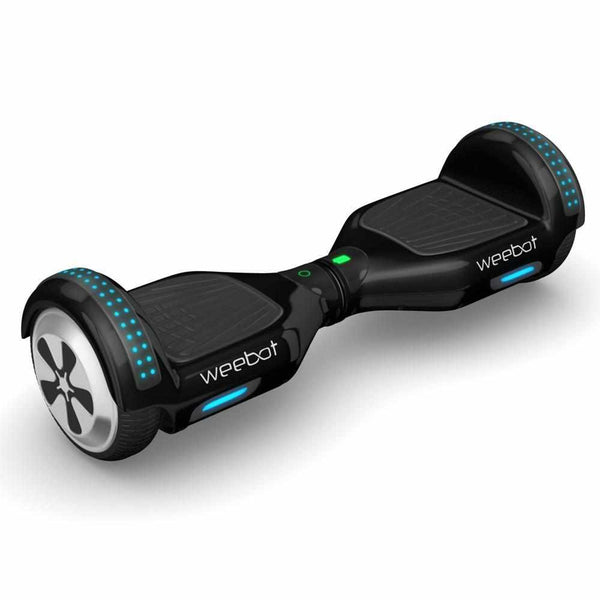 hoverboard bluetooth light noir