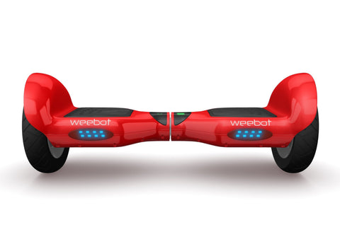 Hoverboard 4x4 Rouge - 10 Pouces - Weebot