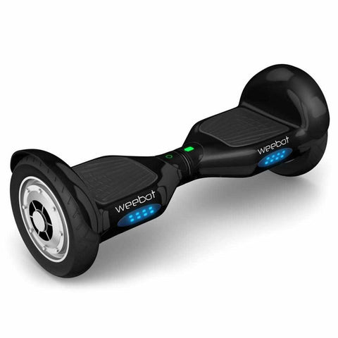 hoverboard tout terrain noir roues 10 pouces hoverboard weebot. Black Bedroom Furniture Sets. Home Design Ideas