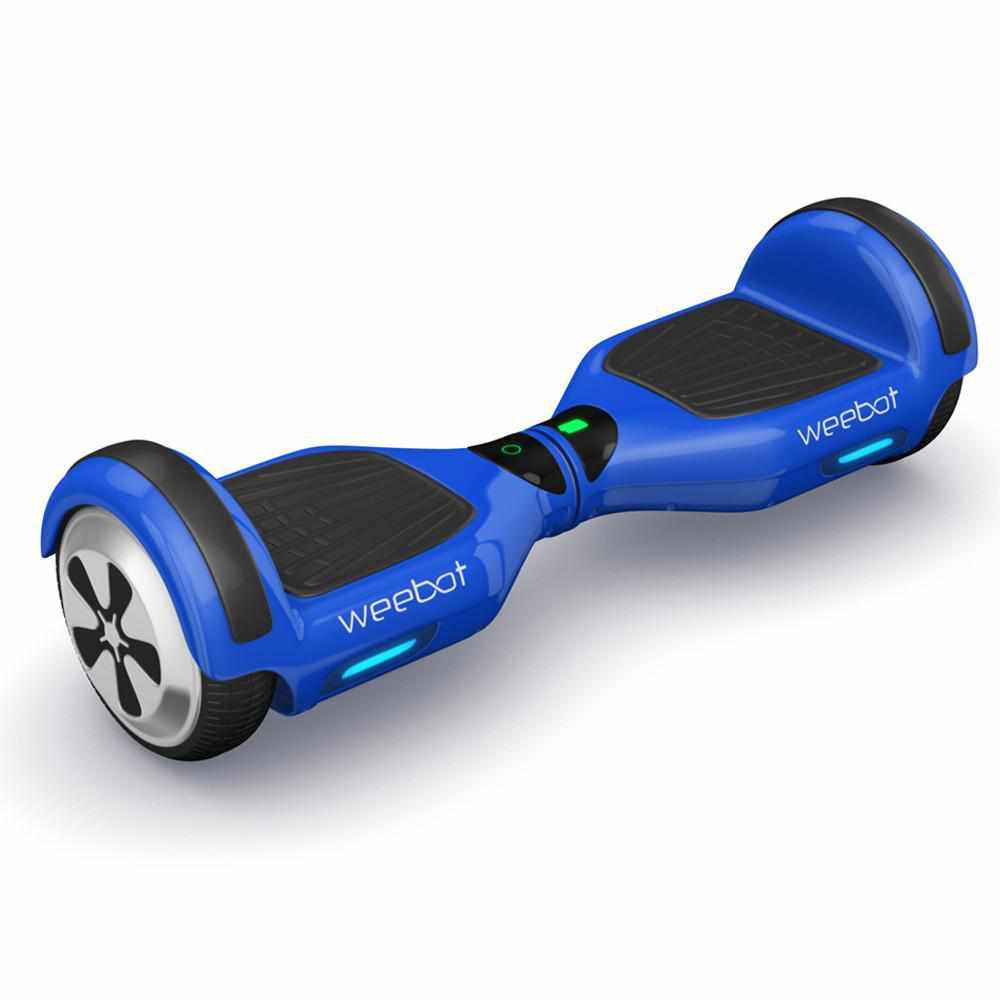 hoverboard bleu weebot classic roues 6 5 pouces design. Black Bedroom Furniture Sets. Home Design Ideas