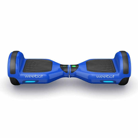 hoverboard pas cher weebot classic bleu coque protection