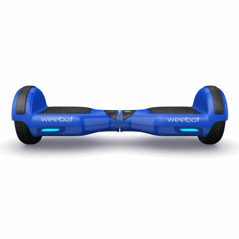 hoverboard pas cher weebot classic bleu phare led