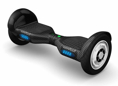 hoverboard tout terrain carbon roues 10 pouces hoverboard weebot. Black Bedroom Furniture Sets. Home Design Ideas