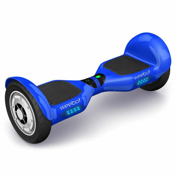 hoverboard tout terrain 4x4 bleu roues 10 pouces hoverboard weebot. Black Bedroom Furniture Sets. Home Design Ideas