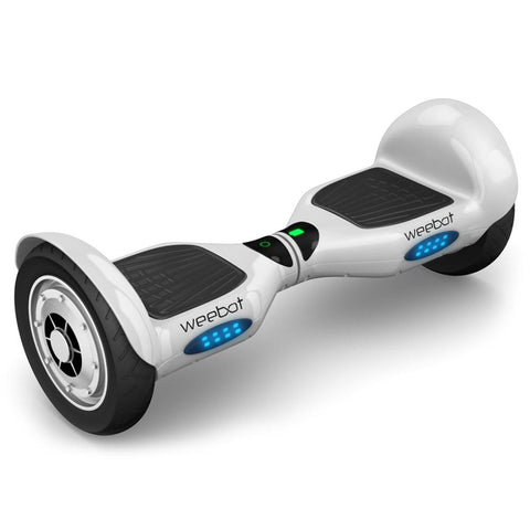 Hoverboard 4x4 Blanc - 10 Pouces - Weebot