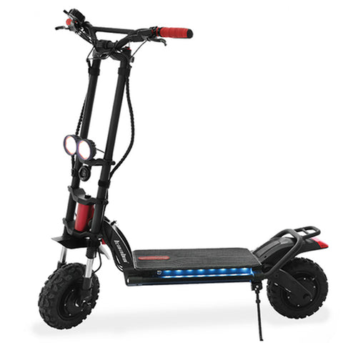 kaabo wolf warrior 2 trottinette electrique sportive phare