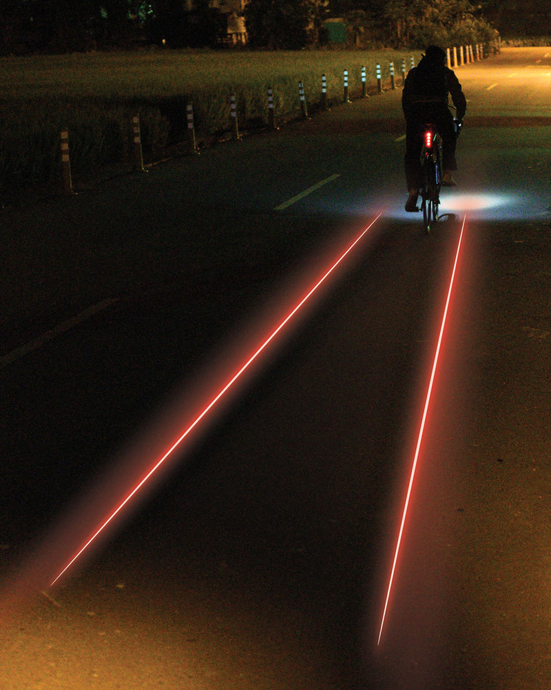 lampe arriere velo lezyne laser drive nuit