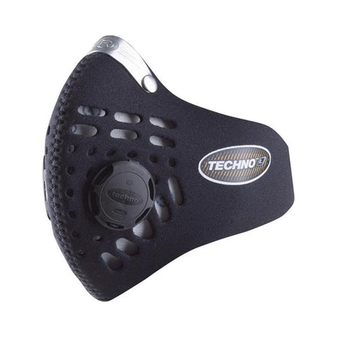 masque anti pollution respro techno noir