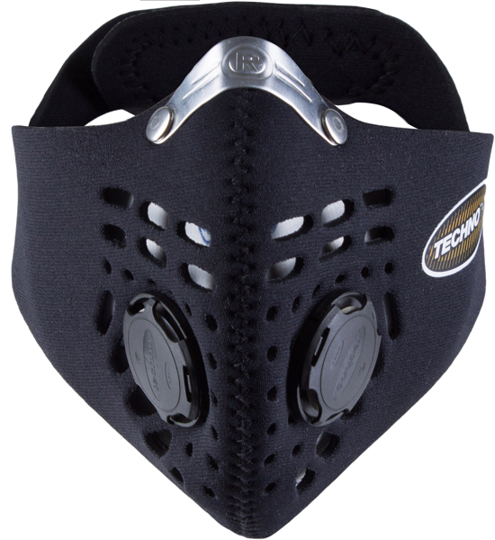masque anti pollution respro techno noir pas cher