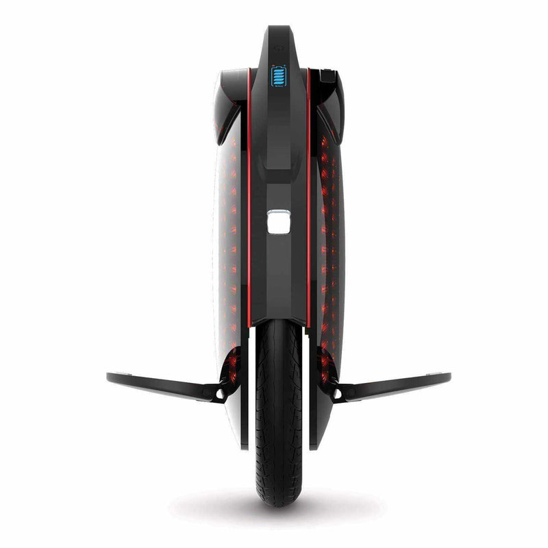 monocycle electrique Inmotion V8 pedales phare avant led