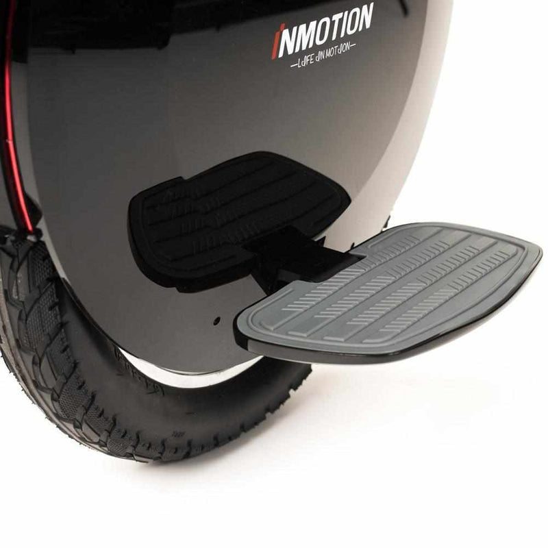monoroue inmotion v10f zoom cale pieds