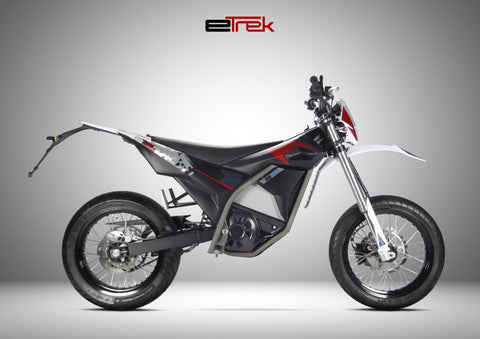 moto electrique cross electric motion etrek rouge