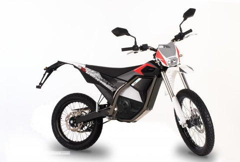 moto electrique cross electric motion etrek version  rouge