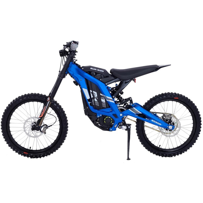 moto electrique cross surron light bee x off road bleu
